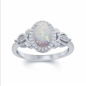 Enchanted Disney Cinderella opal ring